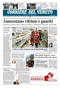 Corriere del Veneto Padova e Rovigo – 26 marzo 2020