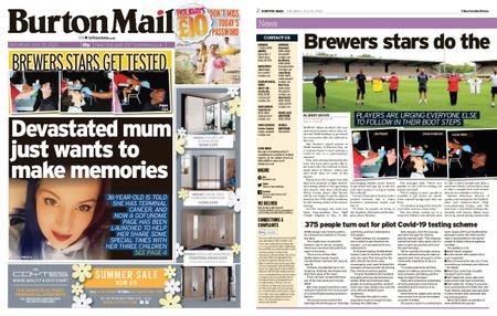 Burton Mail – July 25, 2020
