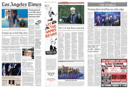 Los Angeles Times – September 18, 2019