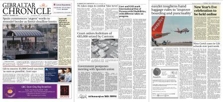 Gibraltar Chronicle – 03 December 2020