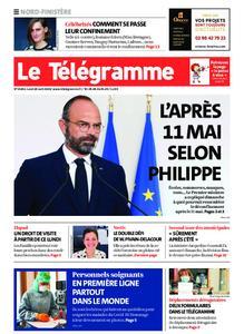 Le Télégramme Brest Abers Iroise – 20 avril 2020