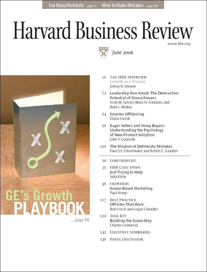Harvard Business Review / June 2006
