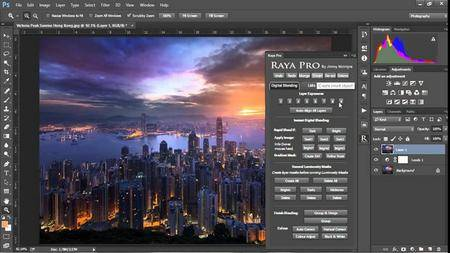 Raya Pro 1.1 Plug-in for Adobe Photoshop (Win/Mac)