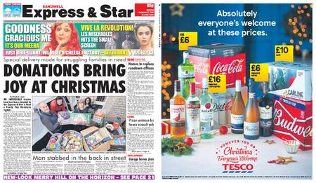 Express and Star Sandwell Edition – December 22, 2018