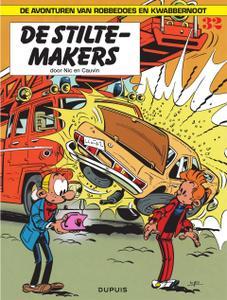 """Strip - """"Robbedoes En Kwabbernoot - 32 - De Stiltemakers cbr"""