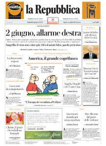 la Repubblica - 1 Giugno 2020
