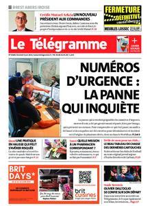 Le Télégramme Brest Abers Iroise – 04 juin 2021
