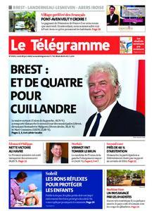 Le Télégramme Brest Abers Iroise – 29 juin 2020