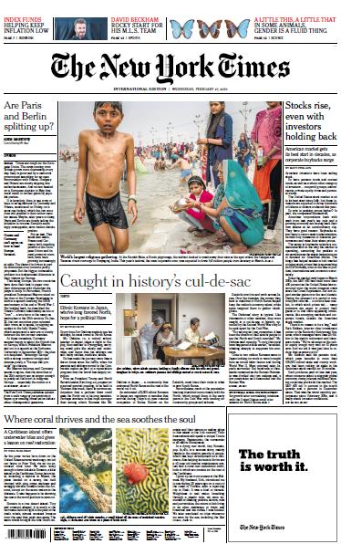 International New York Times - 27 February 2019