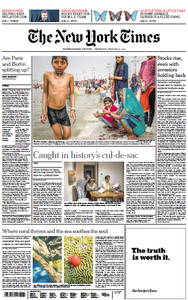 International New York Times - 27 February 2019
