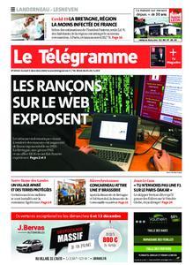 Le Télégramme Landerneau - Lesneven – 05 décembre 2020