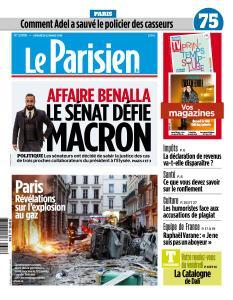 Le Parisien du Vendredi 22 Mars 2019