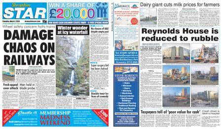 Shropshire Star Shrewsbury Edition – March 01, 2018