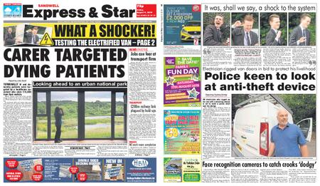 Express and Star Sandwell Edition – August 09, 2019
