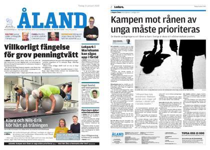 Ålandstidningen – 21 januari 2020