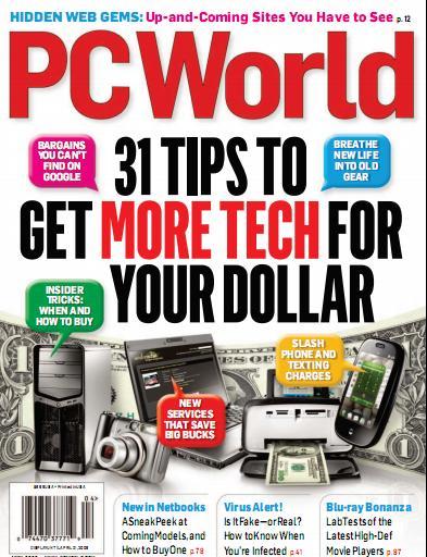 PC World Magazine (April 2009)