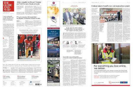 The Globe and Mail – September 05, 2018