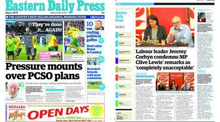 Eastern Daily Press – October 23, 2017