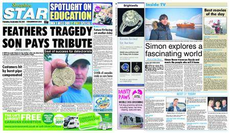 Shropshire Star Shrewsbury Edition – September 28, 2017