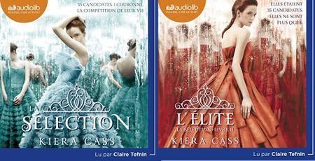 """Kiera Cass, """"La Sélection 1 et 2"""""""