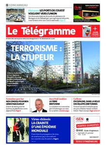 Le Télégramme Concarneau – 22 janvier 2020