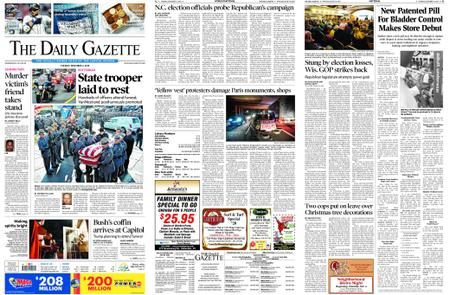 The Daily Gazette – December 04, 2018