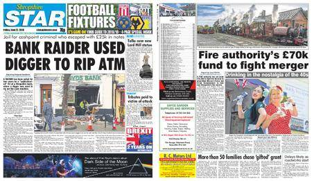 Shropshire Star Shrewsbury Edition – June 22, 2018