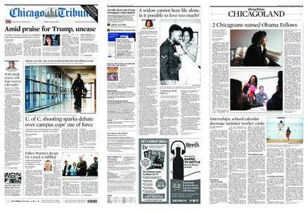 Chicago Tribune – April 16, 2018