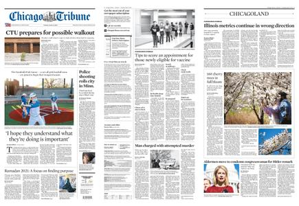 Chicago Tribune – April 13, 2021