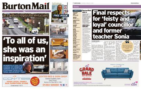 Burton Mail – February 15, 2020