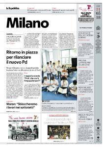 la Repubblica Milano - 31 Maggio 2018