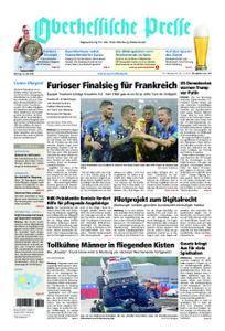 Oberhessische Presse Marburg/Ostkreis - 16. Juli 2018