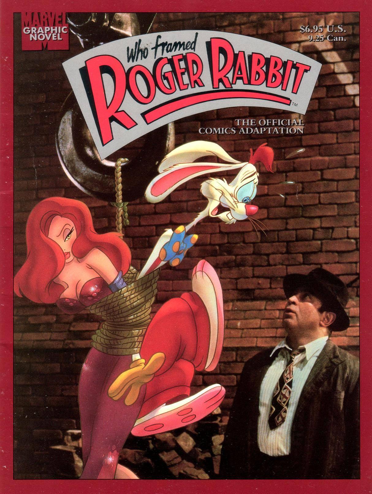 Marvel Graphic Novel 41 - Who Framed Roger Rabbit 1988