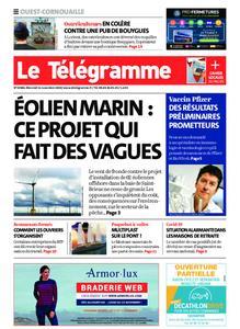 Le Télégramme Ouest Cornouaille – 11 novembre 2020