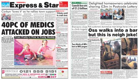 Express and Star Sandwell Edition – October 01, 2018