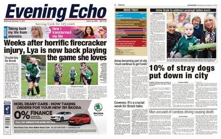 Evening Echo – November 14, 2018