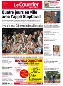 Le Courrier de l'Ouest Cholet – 08 juin 2020