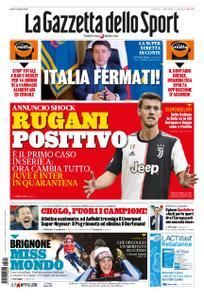 La Gazzetta dello Sport Roma – 12 marzo 2020