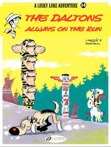 Cinebook-Lucky Luke Vol 34 The Daltons Always On The Run 2012 Hybrid Comic eBook