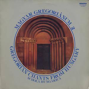 Schola Hungarica - Magyar Gregorianum 2 (1979) HU 1st Pressing - LP/FLAC In 24bit/96kHz