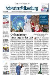 Schweriner Volkszeitung Hagenower Kreisblatt - 28. November 2017