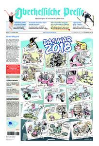 Oberhessische Presse Marburg/Ostkreis - 31. Dezember 2018