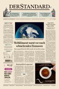 Der Standard – 26. September 2019