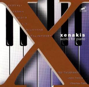 Aki Takahashi - Iannis Xenakis: Works for Piano (1999) [Xenakis Edition, Vol. 4]