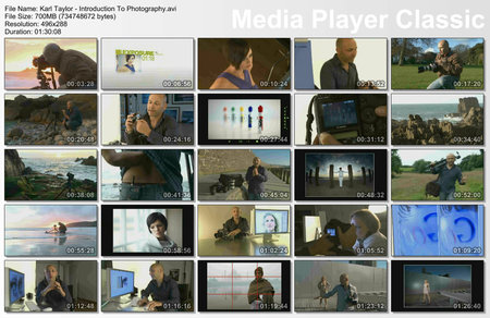 Karl Taylor - Photography Masterclass DVDs (2011)