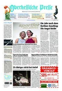 Oberhessische Presse Marburg/Ostkreis - 18. Dezember 2017
