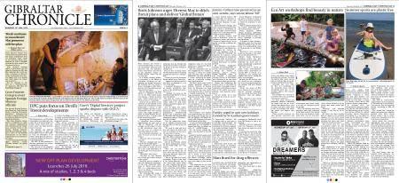 Gibraltar Chronicle – 19 July 2018