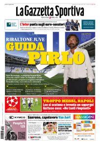 La Gazzetta dello Sport – 09 agosto 2020