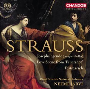 Neeme Järvi - Richard Strauss: Josephslegende, Op. 63 and other works (2013) [SACD] PS3 ISO