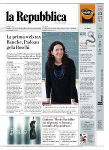 la Repubblica - 19 Dicembre 2017